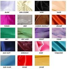 DOUBLURE polyester au mètre tissu fluide déco vêtement 11 coloris largeur 150 cm
