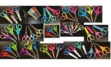 Scuola per Bambini Sicurezza Carta Artigianale Forbici in Plastica Maniglia Vari Design