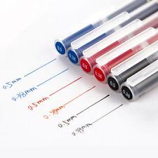 5pcs Muji Moma Japan 0.38mm/0.5mm Non-toxic Gel Ink Pen Blue/Black/Red select
