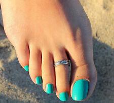 Fashion Tibetan Silver Adjustable Toe Ring Little Finger Ring! 7 Choice TISJ0010