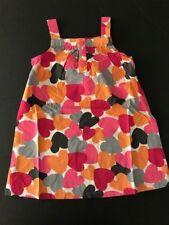 Gymboree NWT PANDA ACADEMY Heart Jumper Dress Pink Orange 2 2T 3 3T 4 4T 5 5T