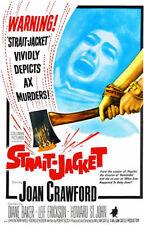 189126 Strait Jacket 1964 Movie Print Poster Affiche