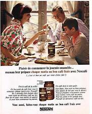 PUBLICITE ADVERTISING  1965    NESCAFE    café soluble