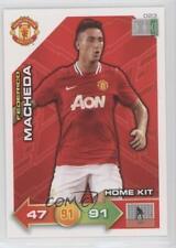 2011 2011-12 Panini Adrenalyn XL Manchester United 023 Home Kit Federico Macheda