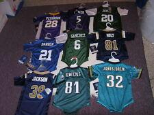 NFL Various Teams & Players Infant Jersey Bodysuit Outfits Sz 12M, 18M, 24M NWT