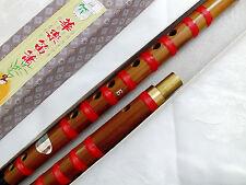 Flauta de bambú chino e clave di Zi Membrana Instru instrumento de música A8 horizontal