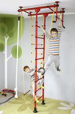 Sprossenwand Klettergerüst Kletterwand Turnwand Kinder Heimsportgerät FitTop M1