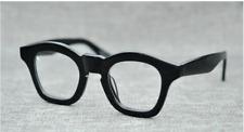 Retro vintage high Acetate Eyeglasses Fram handmade women mens RX Myopia Glasses