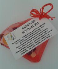 HANGOVER Survival Kit - Hen Hens Bride Birthday Wedding Corporate Business Event