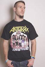 Anthrax Caricatures Scott Ian Thrash Metal Licensed Tee T-Shirt Men