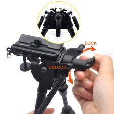 6-9'' Inch Tactical Bipod 30 Degree Pivot Tiltable Swivel Stud With QD Handle