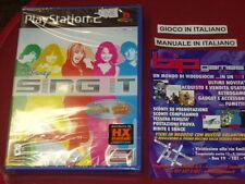 DISNEY SING IT PS2 PLAYSTATION 2 PAL NUOVO SIGILLATO