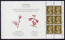 La Grande-Bretagne 1995 National Trust fleur defin. volet fu