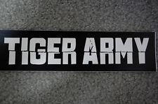 Tiger Army Sticker (S453)