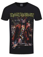 Iron Maiden Stranger Sepia Men's Black T-shirt