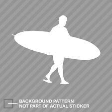 Longboard Surfer Sticker Decal Vinyl surf surfing