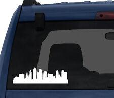 American City Skyline - Kansas City Missouri Silhouette - Car Tablet Vinyl Decal