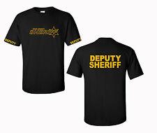 Deputy Sheriff  Logo T shirt Custom County Law Enforcement Tees Gildan S-5XL