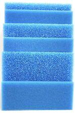 Filterschwamm Filtermatte blau 50 x 50 x 5 cm Grob/Mittel/Fein Teich Aquarium *