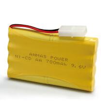 9.6V 700mAh Qualitäts-Akku Ni-Cd AA für elektronisches Werkzeug des Spielzeug-RC