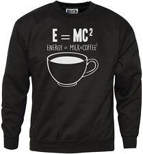 E = ENERGIA mc2 = LATTE x caffè Squared Youth & Felpa da uomo