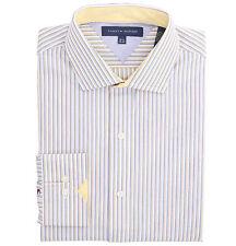Tommy Hilfiger Men's Long Sleeve Button-Down Striped Dress Shirt - $0 Free Ship