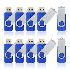 10LOT//PCS 8GB USB 2.0 Flash Drive Flash Memory Stick Rectangle Model Thumb Drive