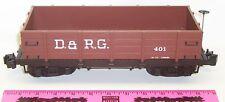 "Lionel New 87401 ""401"" D&Rg Gondola"