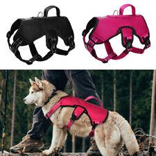 Medium Large Dog Lift Harness Quick Fit Reflective Mesh Padded Adjustable Vest