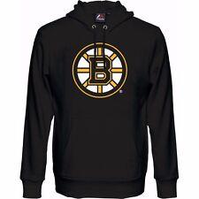 NHL Kaputzenpullover Hoody Hooded Sweater BOSTON BRUINS Logo Majestic schwarz