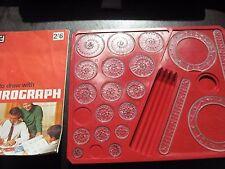 Vintage 1968 Espirógrafo JUEGO-Seleccione su reemplazo pieza del juego/Pieza/cog