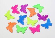 Hotfix Schmetterlinge 15x11mm Nailheads Bügel-Nieten Metall Studs zum Aufbügeln