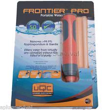 Aquamira Frontier Pro Ultralight Water Filter System