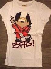 ladies retro michael jackson its bad T Shirts