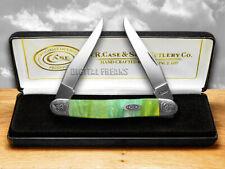 Case Xx Engraved Bolster Series Genuine Rainbow Corelon Muskrat Pocket Knives