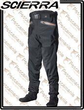 Wader Scierra X-STRETCH nero a pantalone 3 strati traspirante
