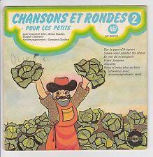 """CLER GAYLOR CLEMENT DURBAN 45T EP 7"""" CHANSONS ET RONDES Vol.2 -RECREATION 80010"""