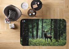 3D Jungle Deer 583 antidérapants Tapis Tapis Chambre Tapis De Qualité élégant Photo Tapis UK
