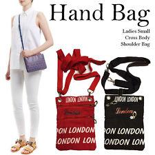Cross Body Bag Women's Girl's Shoulder Bags Messenger Handbags London Extandable