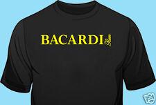 T-Shirt, Bar Staff, Club Promo, Liquior, Bacardi Rum, Gildan. 100% Cotton, Black