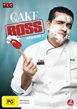 Cake Boss: Season 3 * NEW DVD * (Region 4 Australia)