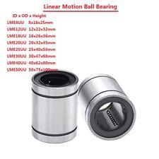 Linear Motion Ball Bearing Machinery Slide Bushing LME8/12/16/20/25/30/40/50UU