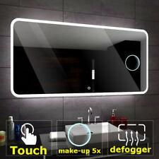 Osaka éclairé del Miroir salle de bain interrupteurs maquillage tampon anti buée