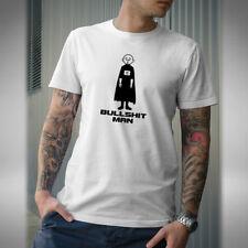 Bullshit Man Mens T Shirt Funny Superhero Karl Pilkington Idiot Abroad Gervais