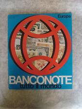 ALBUM FIGURINE BANCONOTE TUTTO IL MONDO N°1 EUROPA 1975