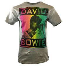 DAVID BOWIE Men's T-shirt - Rebel English - Vintage Tee - Tour UK - Pop Music