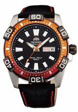 """NWT ORIENT """"Marine"""" Sporty  Automatic 100M Watch Leather EM7R004B EM7R005B"""