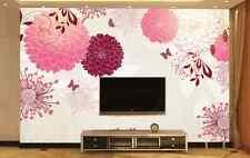 3D Pretty Blossoms 156 Wall Paper wall Print Decal Wall Deco Wall Indoor Murals