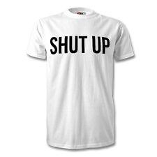 Stormzy Cállate impresión T camisa para hombre Blanco Negro Mugre Unisex logotipo Novedad