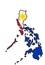 Autoaufkleber Philippinen 11x8 cm Philipines Car Sticker worldwide shipping!